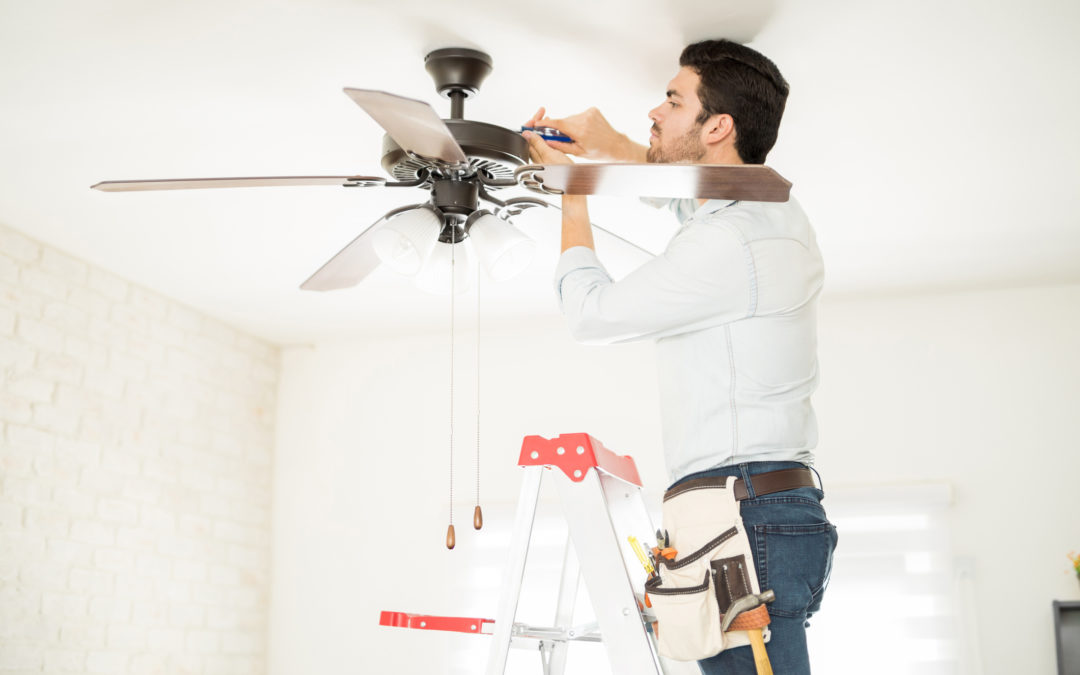 Thinking of Installing a Ceiling Fan? Read this First